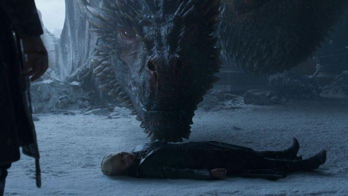 8x06 immagini, Drogon e Daenerys Game of Thrones 8x06 - Trono di Spade Immagini
