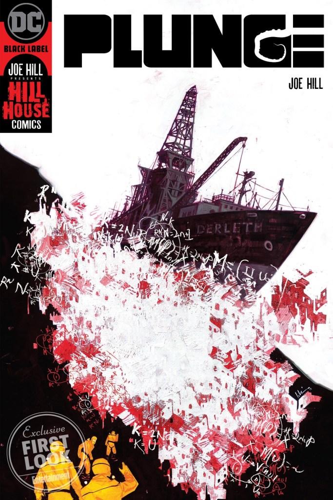 """Joe Hill  linea horror DC Comics DC Black Label,  """"Hill House Comics"""""""