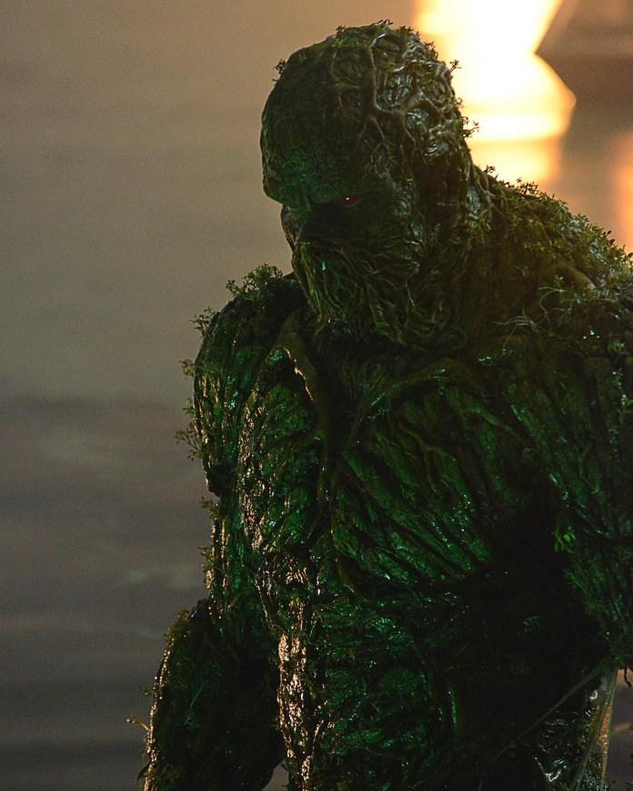 Swamp Thing DC universe DC comics