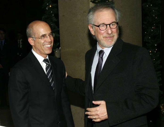 Katzenberg e Spielberg
