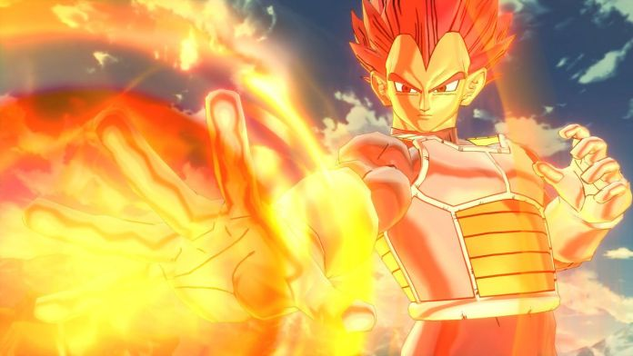 Dragon Ball Xenoverse 2 Vegeta SSJ God