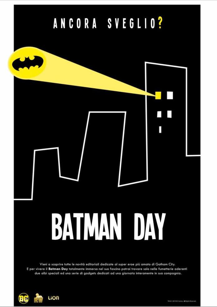 batman day 2019 rw edizioni cavaliere oscuro mega 264