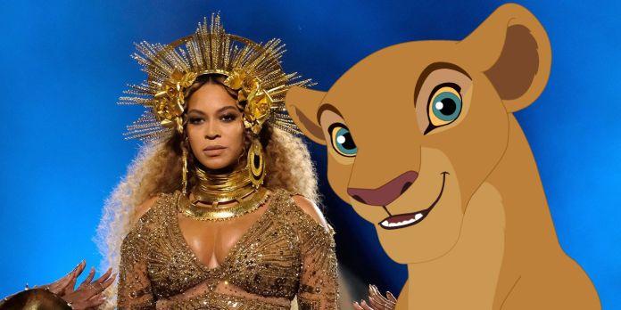 Beyoncé è Nala.