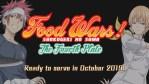 Food Wars! Online il teaser della quarta stagione!