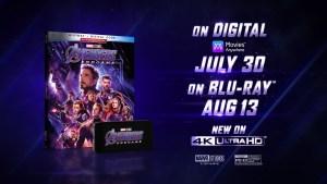 Avengers: Endgame, date e dettagli dell'uscita in formato digitale, 4K, Blu-Ray e DVD