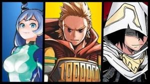 My Hero Academia, Rivelati i Big 3 versione Hero