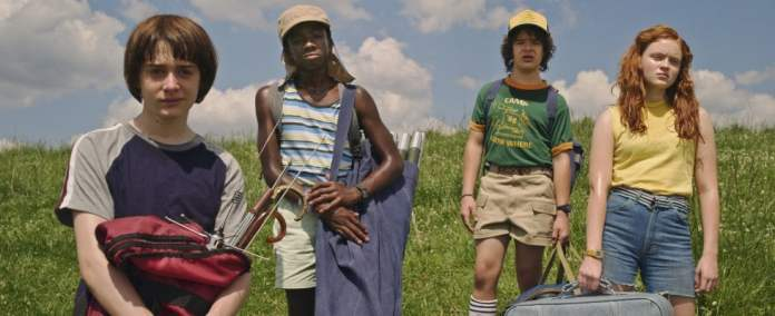 stranger things 3 -  la recensione will lucas dustin e max
