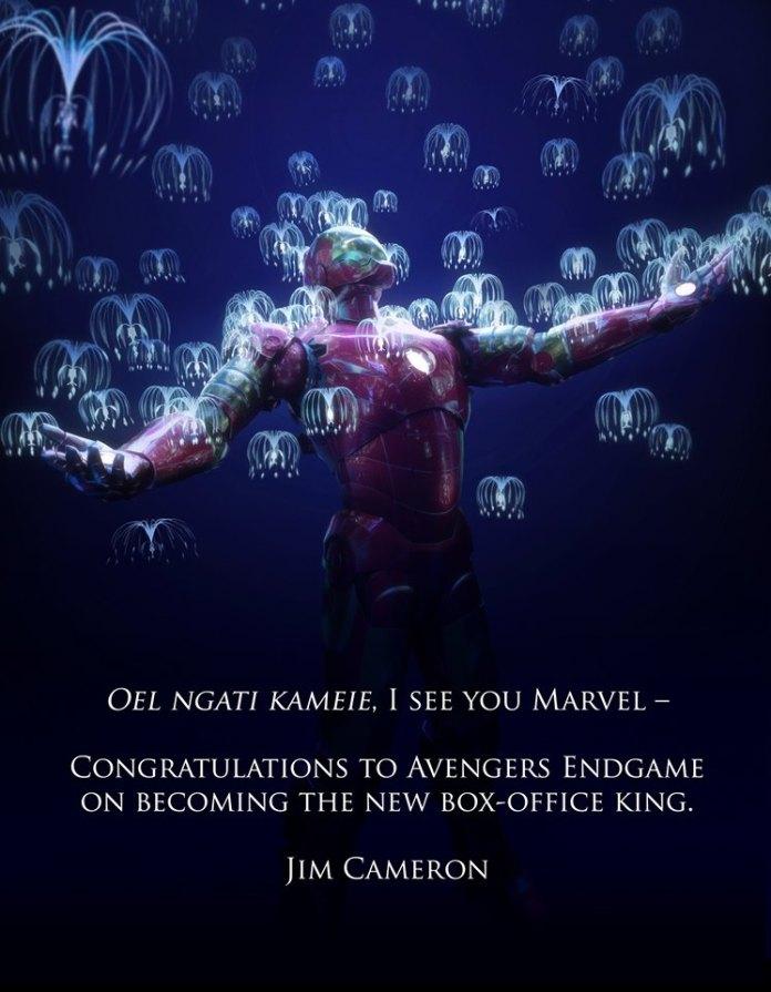 avengers: endgame avatar james cameron marvel studios