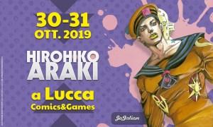 Hirohiko Araki ospite di Edizioni Star Comics A Lucca Comics & Games 2019