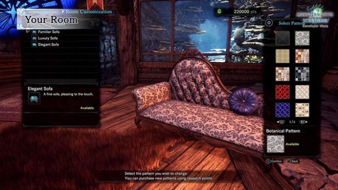Monster Hunter World Arredamento