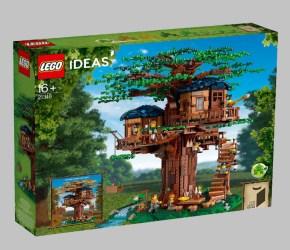 LEGO Ideas 21318 Treehouse: disponibile il set della casa sull'albero