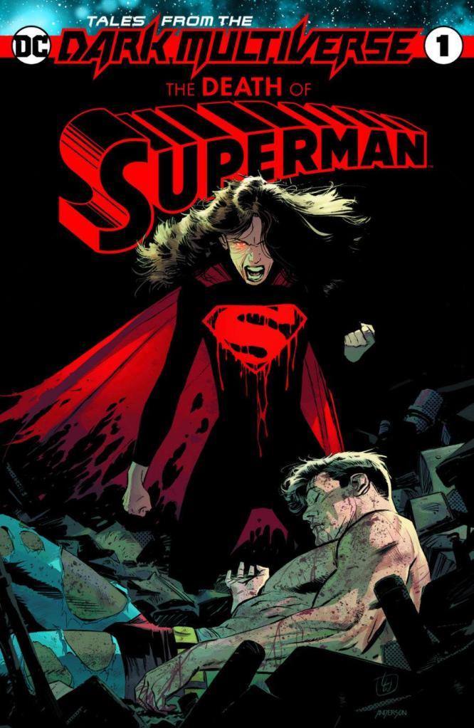 DC Comics Tales from the Dark Multiverse Batman: Knightfall The Death of Superman metal