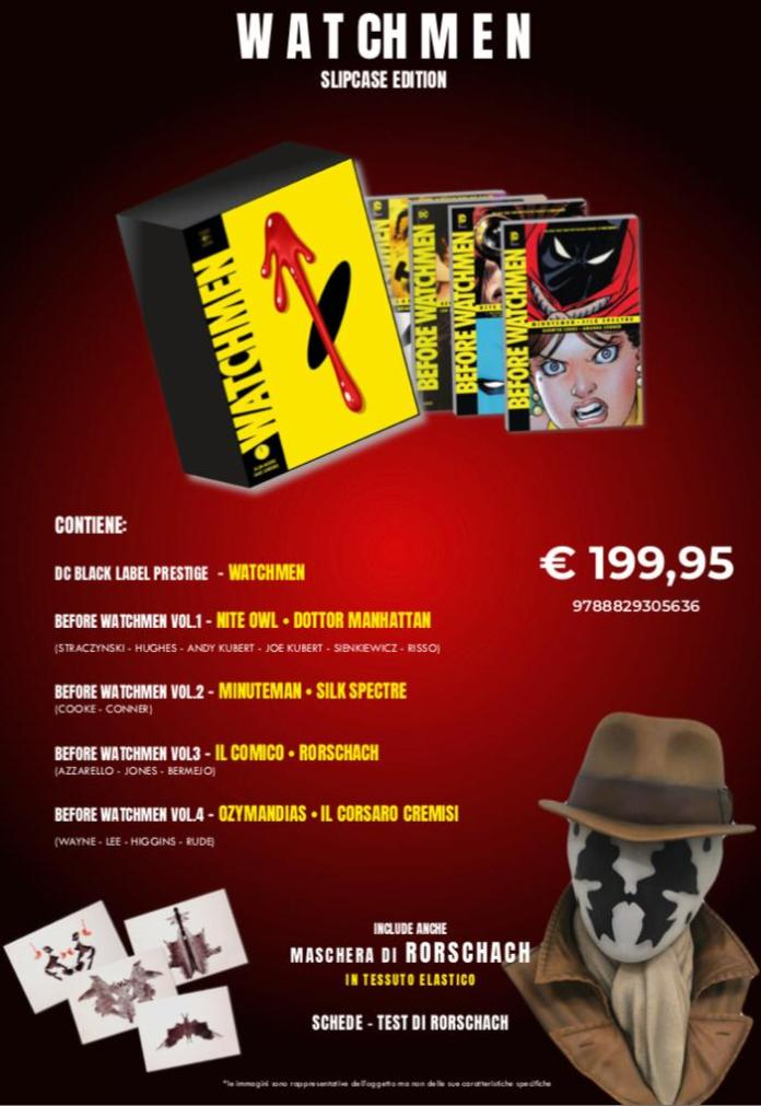 rw edizioni ottobre dark knights metal watchmen omnibus terminal video dc comics