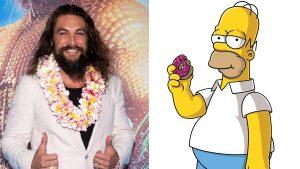 Jason Momoa sarà in un episodio de I Simpson: eccone anche la prima immagine ufficiale