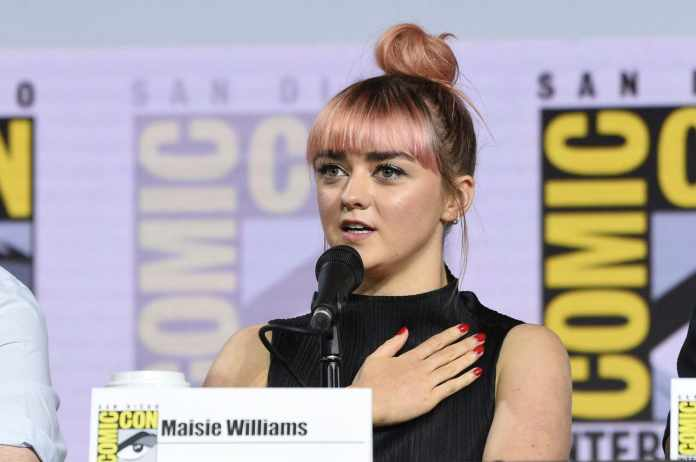 got maisie williams finale amore arya sdcc 2019