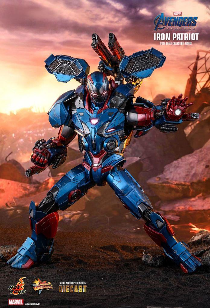 avengers endgame iron patriot