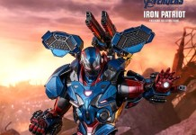 Hot toys iron patriot