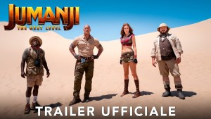 Jumanji: The Next Level, ecco il primo trailer ufficiale