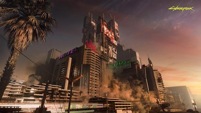 Cyberpunk 2077 Night City screen