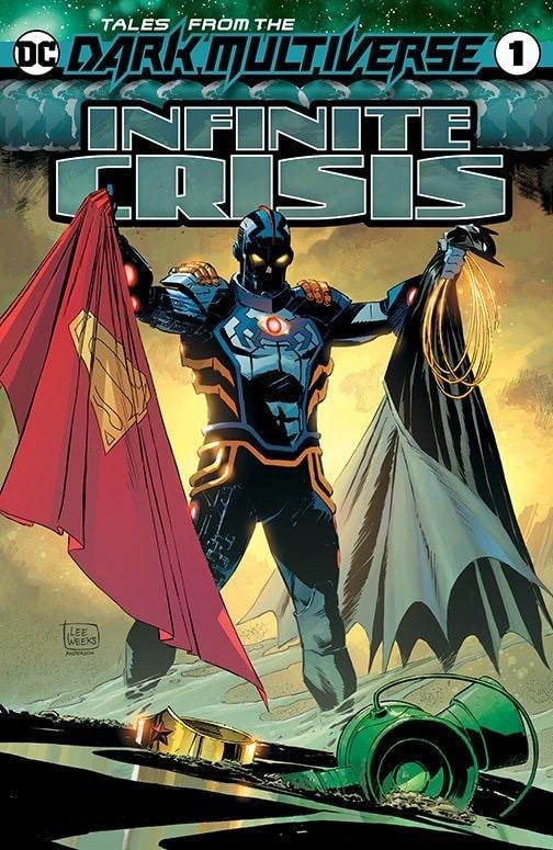 DC comics la notte più profonda Crisi Infinita Tales from the Dark Multiverse