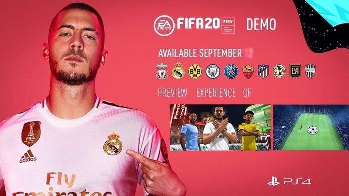 FIFA 20 Demo data d'uscita e squadre incluse