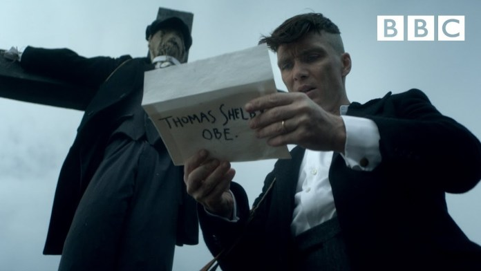 Peaky Blinders 5: sneak peak bbc anteprima 5x01 tommy shelby