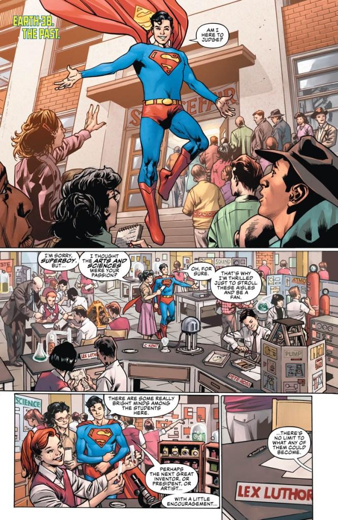 Superman Apex Lex Luthor anno del cattivo year of the villain DC Comics