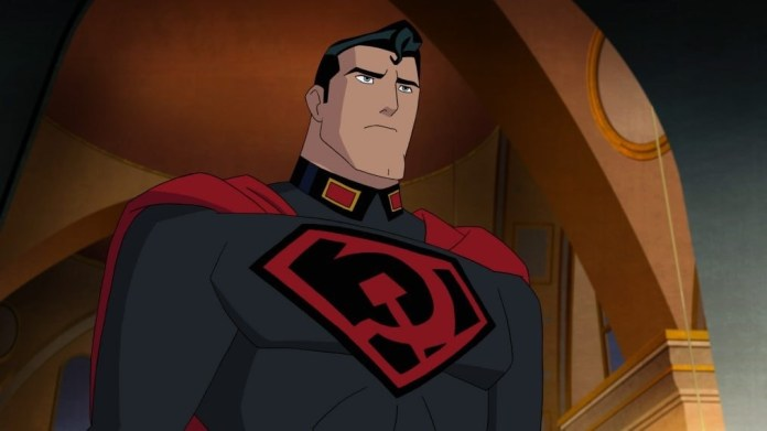 Superman: red son Dc comics Warner Bros