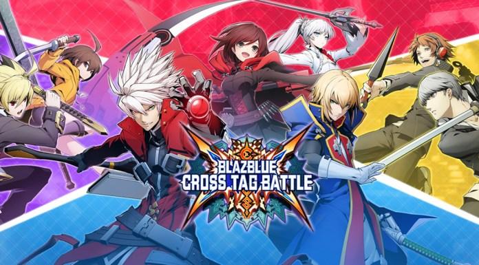 BlazBlue Cross Tag key art