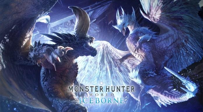 Iceborne Key Art