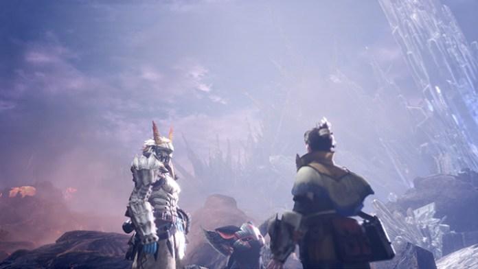 Iceborne screen cutscene