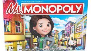 Miss Monopoly: il primo gioco in scatola che celebra le grandi imprese delle donne