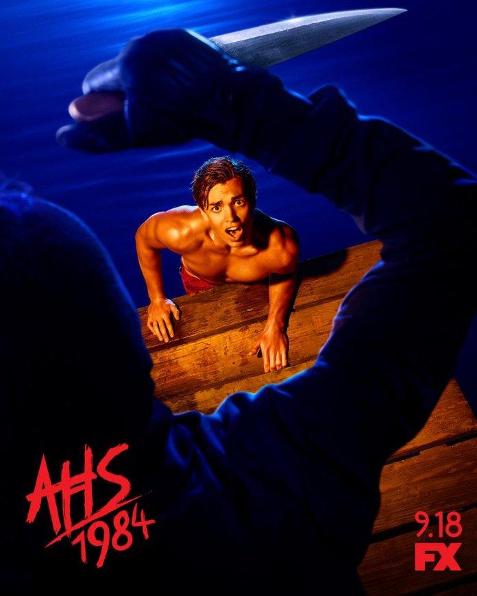 american horror story: 1984 poster e teaser trailer stagione 9