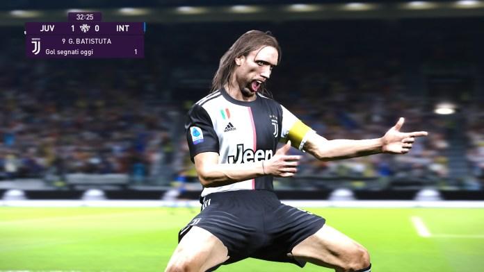 Batistuta Juventus PES 2020