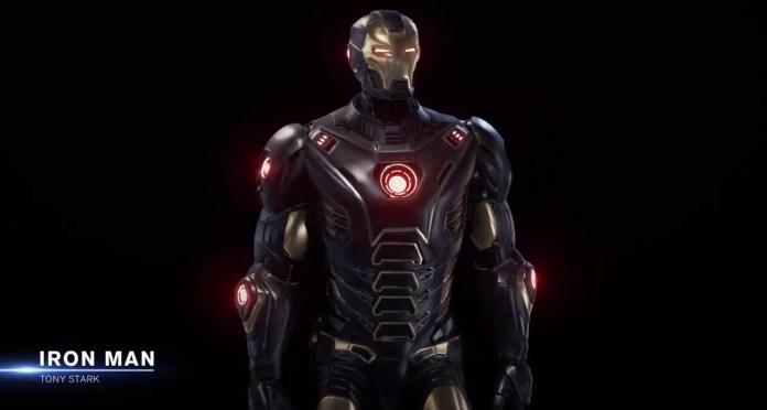 La nuova armatura di Iron Man presentata da Crystal Dynamics