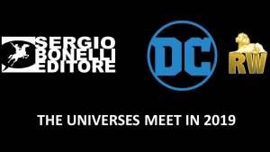 Sergio Bonelli Editore e DC Comics, con RW Edizioni, annunciano il nuovo fantastico crossover a fumetti: Dylan Dog & Batman