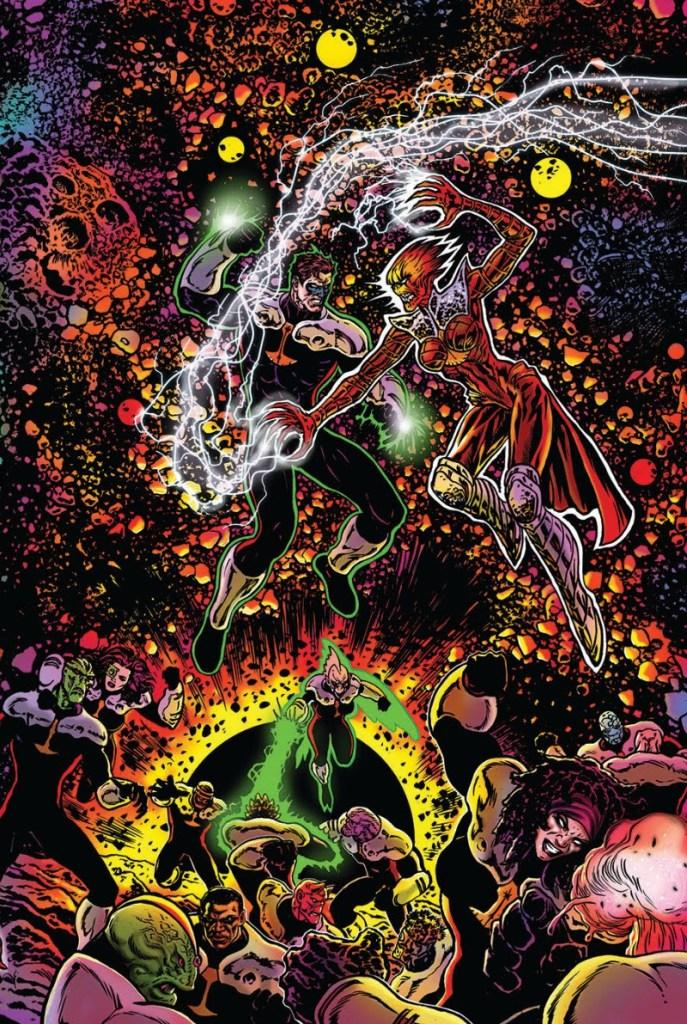 DC Comics Green Lantern Blackstars Hal Jordan Justice League Grant Morrison Lanterna Verde