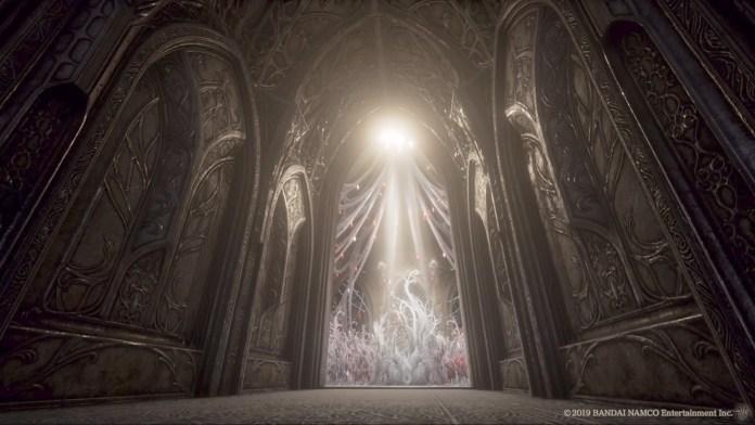 Ambientazione di Code Vein che ricorda molto Dark Souls