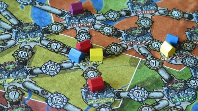 Alta Tensione Recharged mappa e città connesse