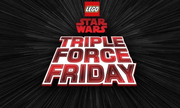 Lego Triple Force Friday