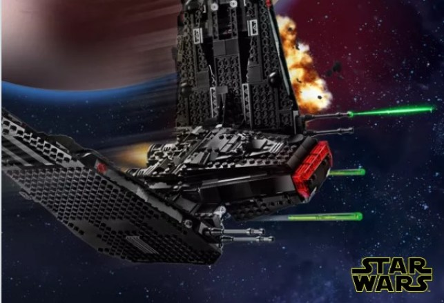 triple force friday lego
