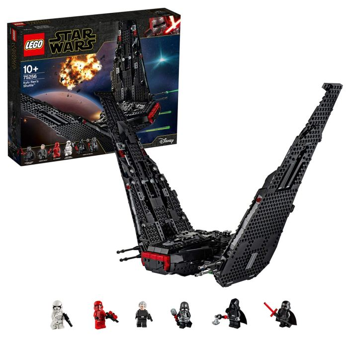 shuttle di kylo ren lego star wars