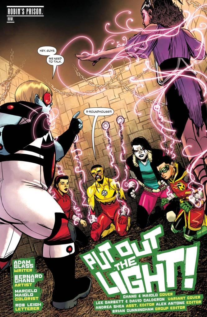 teen titans robin dc comics