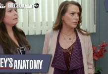 grey's anatomy streghe milano combs reunion video