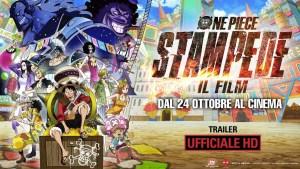 """""""ONE PIECE: STAMPEDE – IL FILM"""", il 21 ottobre in Anteprima nei THE SPACE CINEMA"""