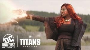 Titans 2: il nuovo promo introduce Blackfire