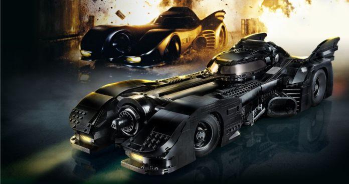 Lego Batman batmobile 1989