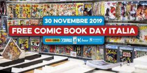 Free Comic Book Day Italia 2019: tutti gli albi e le fumetterie aderenti