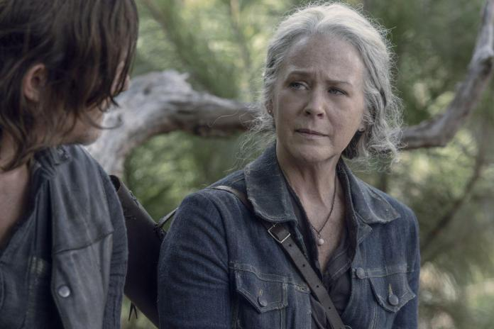 Melissa McBride (Carol Peletier), Norman Reedus (Daryl Dixon) - The Walking Dead 10x06 - Photo Credit: Jace Downs/AMC