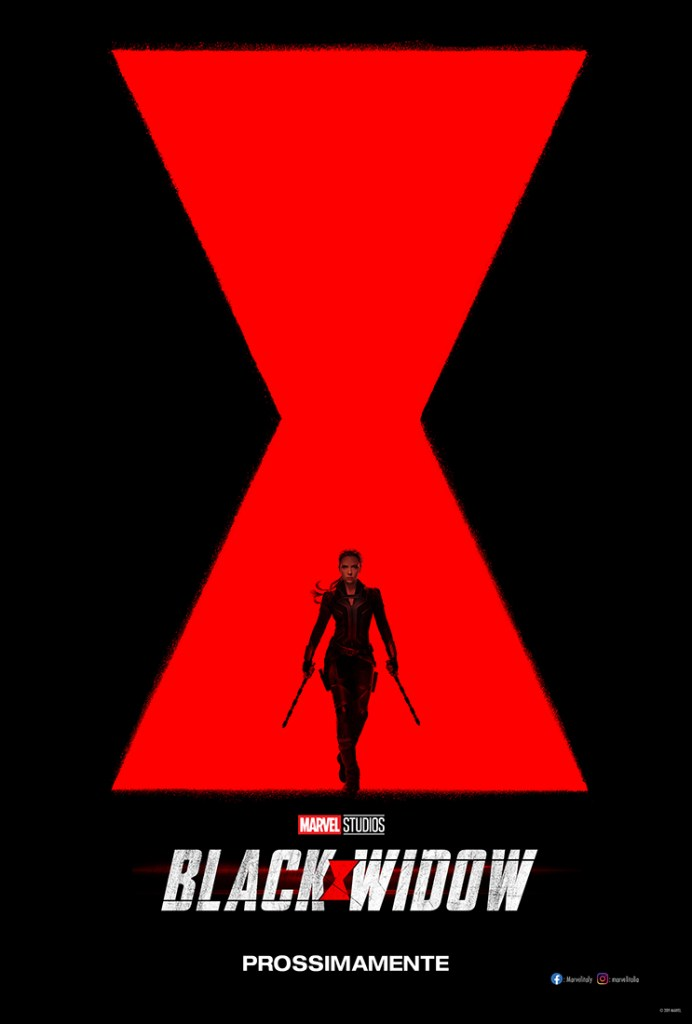 Black Widow / Vedova Nera - Poster